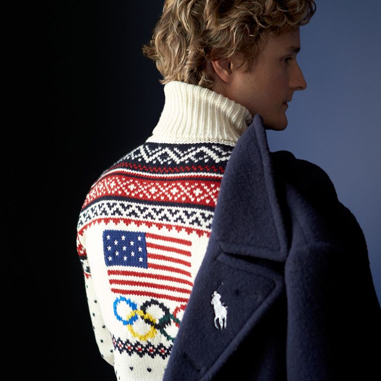 Olympic sweater